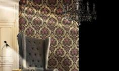 Tapet vinil trandafiri elegant 7929 Cristina Masi Lei-2 Flooring, Elegant, Interior, Collection, Design, Christians, Classy, Indoor