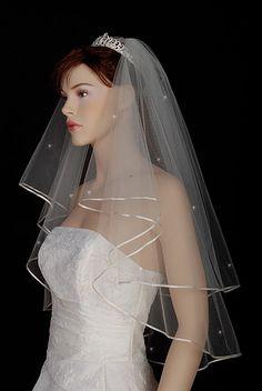 2d7da70c5d vestido de novia color ivory con tiara 2t de marfil blanco de la boda de  velo
