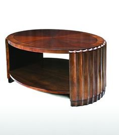 Fluted Coffee Table available through Poet Furniture