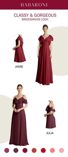 SKU: Jamie/Julia Price: Under $109.00 Color:Burgundy/Cabernet Size: All Sizes Available The lovely V neck looks soft and elegant. These are stunning full-length chiffon gowns made of great quality. #babaroni #bigsale #2020wedding #weddinginspiration #wedding #wedding #weddings #weddings #weddingdress #weddingdresses #bridalgown #bridesmaid #bridesmaiddress #bridesmaidgown Brides Maid Gown, Chiffon Dress Long, Bustier, Bridesmaid Dresses, Wedding Dresses, Dress Collection, Bridal Gowns, Wedding Inspiration, Elegant