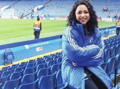 Photo of Chelsea AFC physio Eva Carneiro by Jaffa Chelsea Fc Players, Chelsea Fans, Chelsea Girls, Chelsea Football, European Soccer, Best Club, Raquel Welch, Uefa Champions League, Tottenham Hotspur