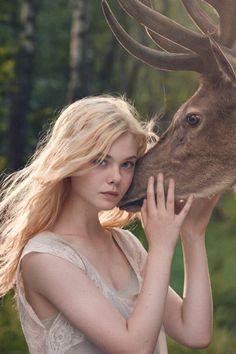 miss-verger:  Elle Fanning for Lolita Lempicka
