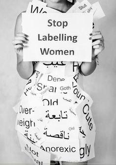 stop labeling women