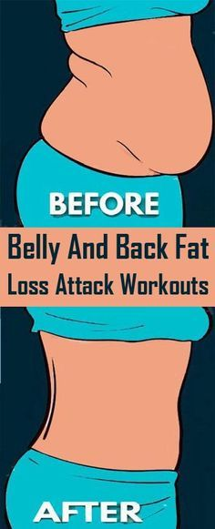 9 Simple & Effective Exercises To Reduce Belly Fat & Back Fat