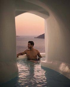 My big fat Greek plunge pool 🇬🇷🐋 Burberry Men, Gucci Men, Adam Gallagher, Hipster Man, Plunge Pool, Audemars Piguet, Gentleman Style, Eye Candy, Greece