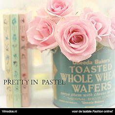 Laat je inspireren door de fashionblog: 'Pretty in Pastel' bij Vimodos