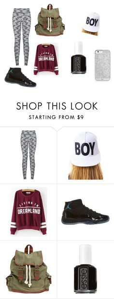 """Lazy Day #2"" by aussie20066262 on Polyvore featuring BOY London, NIKE, Wet Seal and Essie"