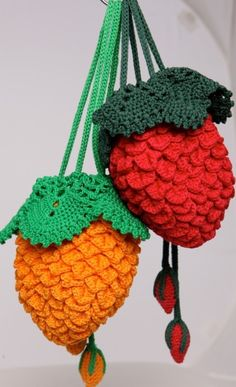 100% Handmade Crocheted Purse