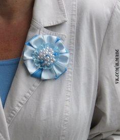 flor de cintas de raso