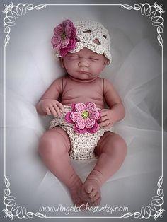 Diaper cover - hand crochet