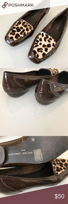 Antonio Melanie leopard flats Stunning calf hair flats • open to offers ANTONIO MELANI Shoes Flats & Loafers