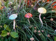 Kerámia gombák közelebbről. Fagyállóak!