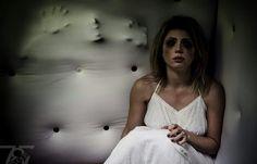 Dark Art Photography #paddedroom #dark #lonely #moody #portrait #conceptual #beauty #scary #horror