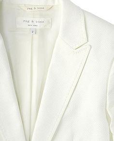 ✕ 42nd Street / #blazer #white #style