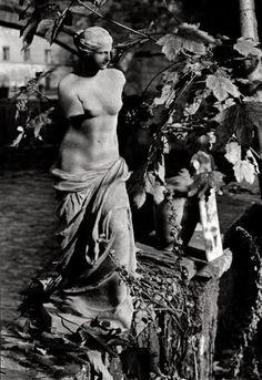 Statue in Prague, 1960's