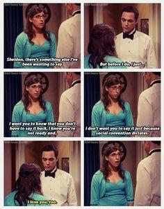 Sheldon ♡ Amy