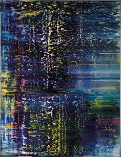Gerhard Richter — Forest (3) [Wald (3)], 1990