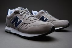 New Balance ML565 Suede - Mens Select Footwear - Grey-Blue