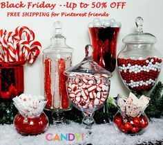 Buy candy now for holiday DIYs, parties and more.  Best deals of the year today on selected items.  And another special deal found only on our website.  candy.com