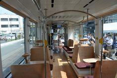 熊本市電:「COCORO」くつろぎの空間を演出 - 毎日新聞
