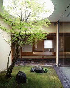 15 Mix Modern Japanese Courtyard With Nature | House Design And Decor
