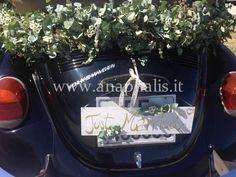 Il nostro Maggiolone Cabrio per Andrea e Rossella by Anaphalis Wedding Car, Ted, Tote Bag, Bags, Design, Purses, Carry Bag, Taschen, Tote Bags