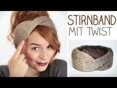 DIY Stirnband flechten aus Strickliesel-Schnüre - Stricken für Anfänger - YouTube