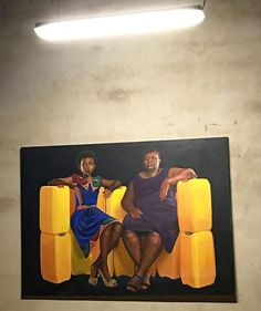 Jeremiah Quarshie, 'Yellow is the Colour of Water' exhibition in Accra, Ghana Contemporary African Art, Accra, Art Fair, Ghana, Colours, Paintings, Yellow, Water, Creative