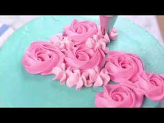 The most amazing cake decorating videos - Flower cake decorating tutorial compilation  - YouTube
