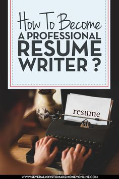 resume writing is a skilled job and professionals are trained to know how to create resumes and cover letters that can effectively and successfully