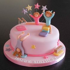 gymnastics birthday cake - Google Search