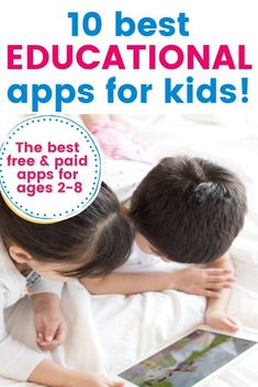 The best educational apps for kids to learn numbers and letters from home. If you are looking for free educational apps for preschoolers and toddlers, this list as great activities for kids to learn numeracy and reading from your phone or ipad Activity Based Learning, Learning Apps, Art Activities For Kids, Early Learning, Kids Learning, Summer Activities, Literacy And Numeracy, Literacy Skills, Educational Apps For Kids