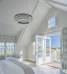 45 Perfect Coastal Beach Schlafzimmer Deko-Ideen - Coastal Design - The Effective Pictures We Offer You About hamptons beach house decor A quality picture c Dream Beach Houses, Hamptons Beach Houses, Modern Beach Houses, Hamptons Home, My Dream House, White Beach Houses, Hamptons Bedroom, Small Beach Houses, Beautiful Beach Houses