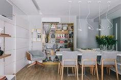 Inspire-se nas fotos abaixo para criar uma sala de jantar com o seu jeito