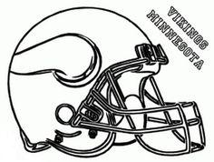 Minnesota Vikings logo Stencil Coloriages Logos NFL Basketball