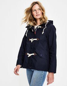 Whitby Waterproof Jacket Jackets at Boden Boden Uk, Grey Skies, Striped Jersey, Mode Online, Outfit, Your Style, Windbreaker, Raincoat, Blazer