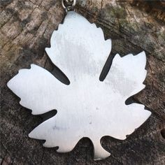 Leaf Necklace, Runes, Scandinavian, Vintage Jewelry, Vintage Jewellery, Vintage Jewelry Crafts