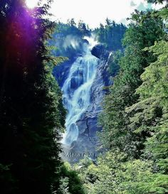 Shannon Falls on the road to Whistler/Blackcomb
