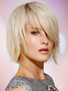 ... Make-Up on Pinterest | Short Layered Haircuts, Thin Hair and Fine Hair