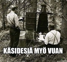 A prohibition act was in place from Thi didn't stop Finns from drinking. A picture from the Finland Home Distilling, Buy Alcohol, History Timeline, How To Start Running, Love Affair, Present Day, Finland, Acting, Around The Worlds
