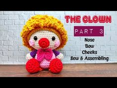 YouTube Amigurumi Tutorial, Arms, Crochet Hats, Teddy Bear, Cap, Knitting, Sewing, Youtube, Knots