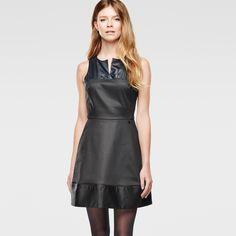 G-Star RAW | Frauen | Kleider | Tahi Borealis Dress , Raw Denim