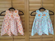 Dresses for the twins.