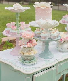 Maypole Garden Party Baby Shower Tea Party First. Baby Is Brewing: Tea Party Baby Shower. Garden Bridal Shower Dessert Bar On Vintage Tea Cart With . Girls Tea Party, Tea Party Theme, Tea Party Birthday, Tea Party Cupcakes, Party Party, Shabby Chic Birthday Party Ideas, Tea Party Desserts, Cake Birthday, Party Games