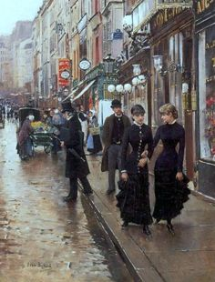 The Walk - Jean Béraud (1849-1935)