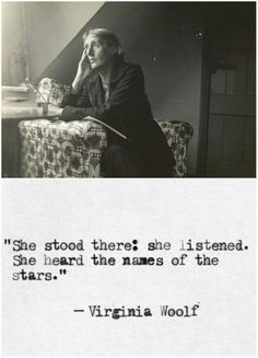 """Her suicide note read: """"I feel certain that I'm going mad again. I feel we can't go thru another of those terrible times. And I shan't recover this time. I begin to hear voices."""" ─ Virginia Woolf"""