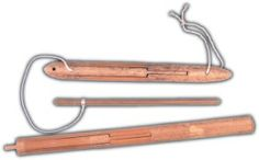 ❤ Jews Harp By P.Potkin In A Dark Wooden Case Mouth Musical Instrument Gear