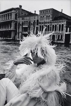 Photo by  F. C. Gundlach, Venice, 1960s.