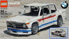 BMW 2002 Turbo (1973-75): A LEGO® creation by REGIS Michel : MOCpages.com