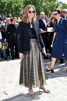 Olivia Palermo At Paris Haute Couture Fashion Week